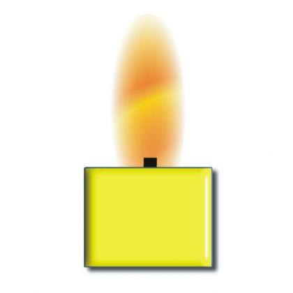 Wachsfarbe gelb für 1kg Wachs