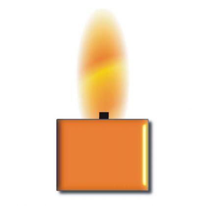 Wachsfarbe orange für 1kg Wachs