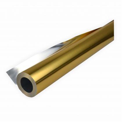Alufolie gold/silber doppelseitig kaschiert 50 cm x10 Meter