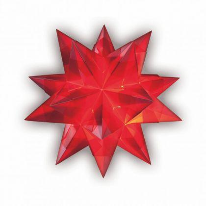 Bascetta Stern 20 x 20 cm 30 Blatt rot