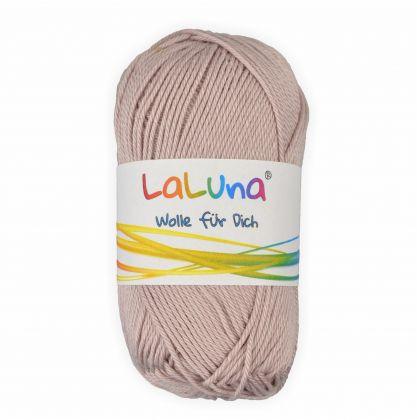 Basic Wolle cappuccino 100% Baumwolle 50g - 125m, Strick und Häkelgarn der Marke LaLuna®