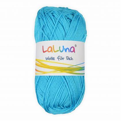 Basic Wolle eisblau 100% Baumwolle 50g - 125m, Strick und Häkelgarn der Marke LaLuna®