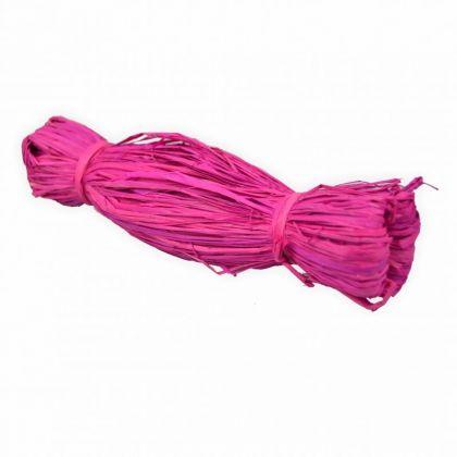 Bast Raffia 50g pink