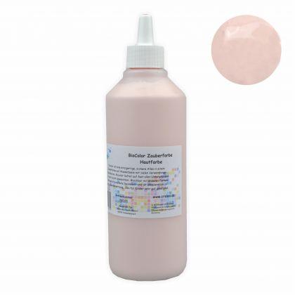 BioColor Acrylfarbe - Zauberfarbe Flasche 500 ml Hautfarbe
