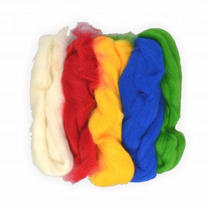 Filzwolle 100 % Merino uni Farben superfein 50g
