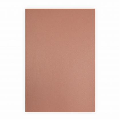 Creleo - Fotokarton rotbraun 300g/m², 50x70cm, 1 Bogen / Blatt