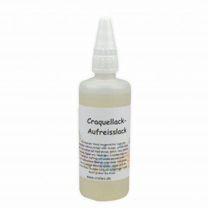 Krakelierlack - Aufreisslack 100 ml farblos