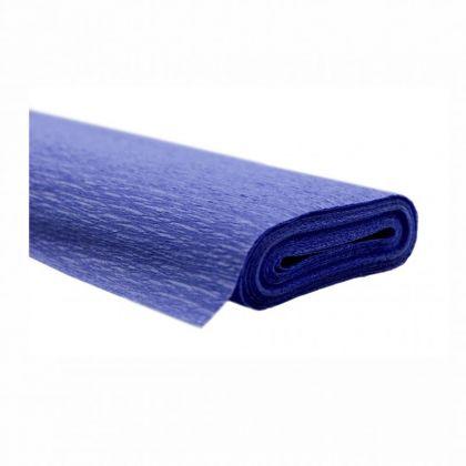 Krepppapier blau 50x250 cm Rolle