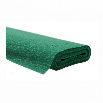 Krepppapier dunkelgrün 50x250 cm Rolle