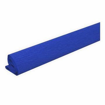 Krepppapier fein blau 50 x 250 cm ca. 31 g/m²