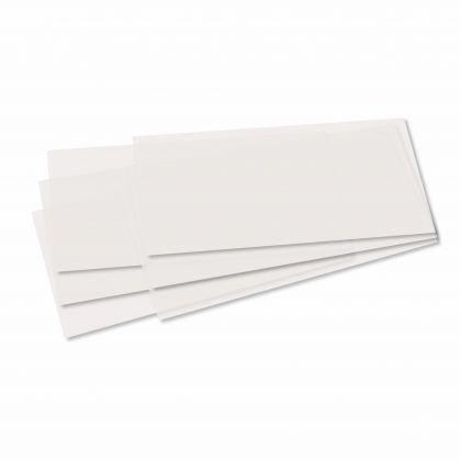 Creleo - Laternenzuschnitte 115g/m³ 22x51xcm 5 Bogen weiss Transparentpapier für Laternen zum basteln