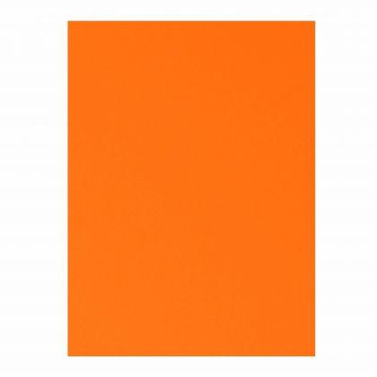 Plakatkarton 380g/m², 48x68cm 1 Bogen, leuchthellrot