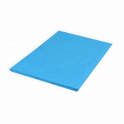 Creleo - Seidenpapier 20g/m² 50x70 cm 5 Bogen blau Top Qualität zum basteln