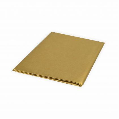 Creleo - Seidenpapier 20g/m² 50x70 cm 5 Bogen gold Top Qualität zum basteln
