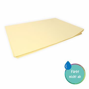 Seidenpapier creme 50 x 70 cm 26 Bogen färbt nicht ab färbt nicht ab bei Kontakt mit Wasser