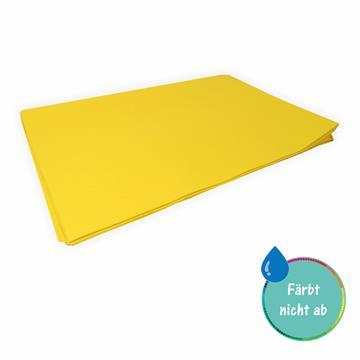 Seidenpapier gelb 50 x 70 cm 26 Bogen färbt nicht ab färbt nicht ab bei Kontakt mit Wasser