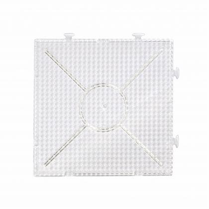 Stiftplatte für Bügelperlen Maxi XL Quadrat 1 Stück 16x16 cm einzeln und auch als eine Fläche nutzbar