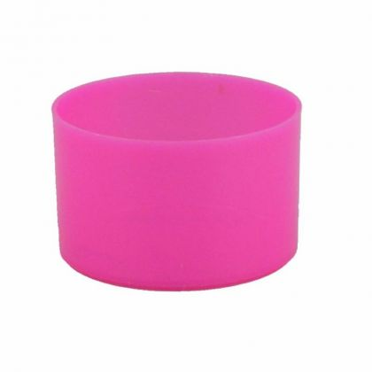 Teelichthüllen 25 Stück pink opak Kunststoff