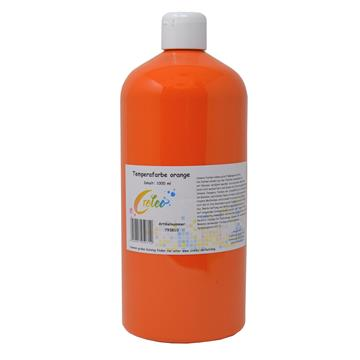Temperafarbe orange 1 Liter