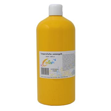Temperafarbe Sonnengelb 1 Liter
