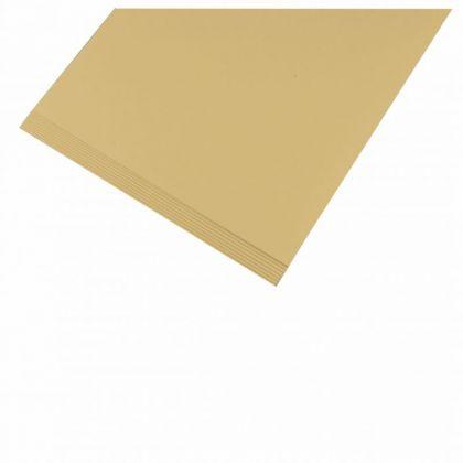 Tonpapier 130 g A4 20 Blatt Strohgelb