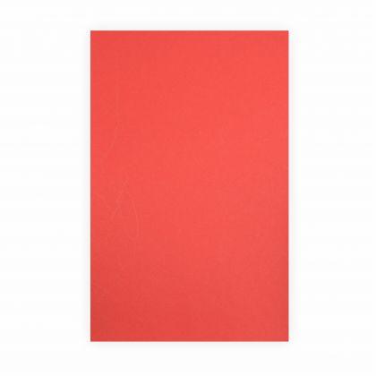 Creleo - Tonpapier hochrot 130g/m², 50x70cm, 1 Bogen / Blatt