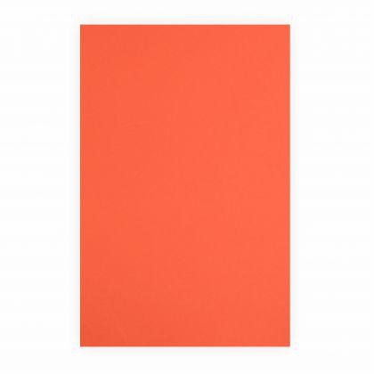 Creleo - Tonpapier orange 130g/m², 50x70cm, 1 Bogen / Blatt