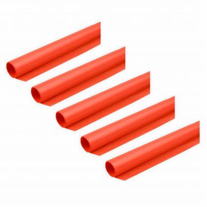 Transparentpapier 40g/m² 5 Rollen orange 70x100cm Drachenpapier