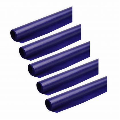 Transparentpapier 40g/m² 5 Rollen violett 70x100cm Drachenpapier
