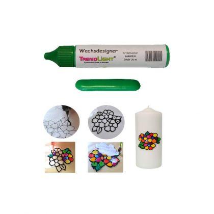 Wachsdesigner grün glänzend 30 ml