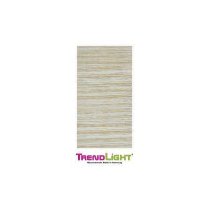 Wachsplatten Streifen weiß/gold 2 Stück