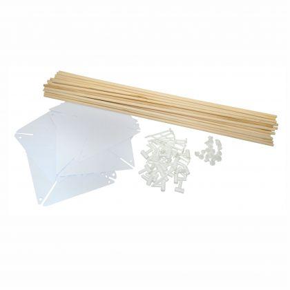 Windrad Bastel Set 20 Stück zum bemalen