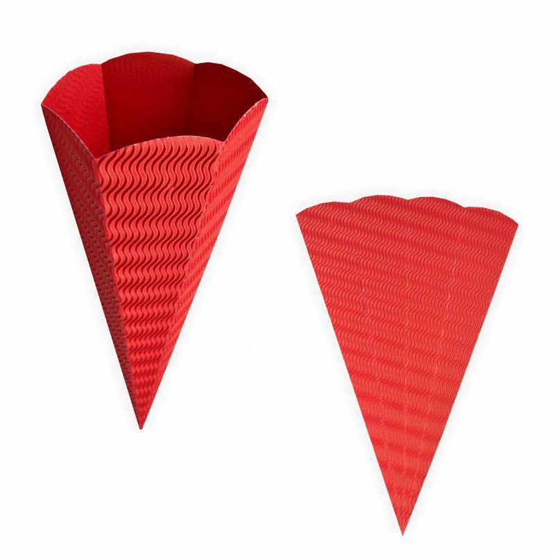 schult te rot aus 3d wellpappe 68cm 1 st ck zuckert te. Black Bedroom Furniture Sets. Home Design Ideas