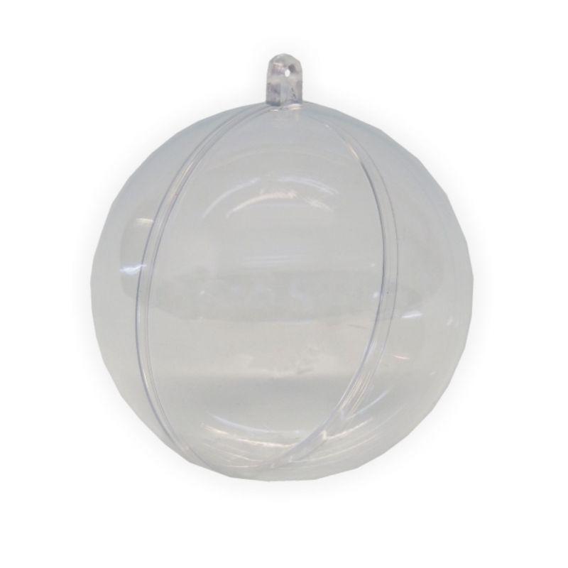 acryl kugel teilbar 50 mm transparent creleo der bastelshop f r kreative k pfe. Black Bedroom Furniture Sets. Home Design Ideas