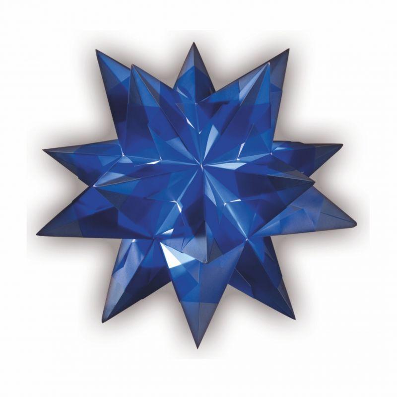 bascetta stern 20 x 20 cm 30 blatt blau creleo der. Black Bedroom Furniture Sets. Home Design Ideas