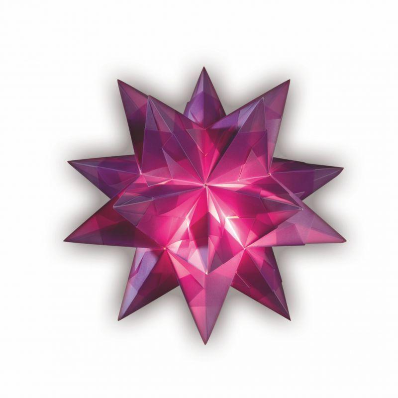 bascetta stern 20 x 20 cm 30 blatt violett creleo der. Black Bedroom Furniture Sets. Home Design Ideas