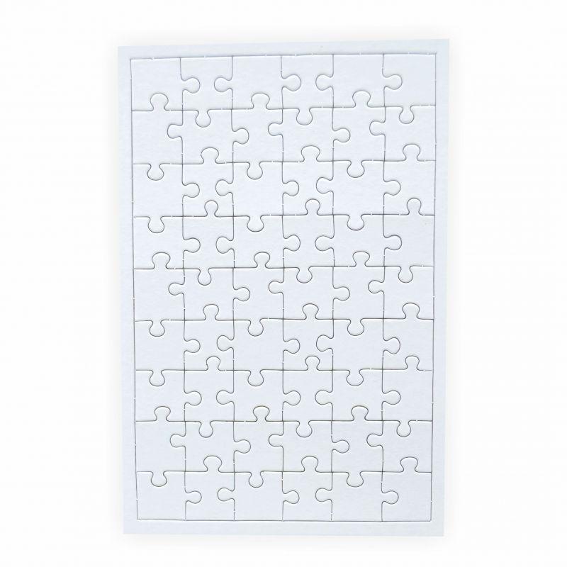 puzzle zum bemalen viereck 54 teile 5 st ck creleo der. Black Bedroom Furniture Sets. Home Design Ideas