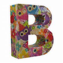 Papp Buchstabe -&- 10 x 3 cm