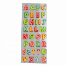Brilliant-Sticker ABC ca. 10x23cm tolle Motive, sehr brillante Aufkleber