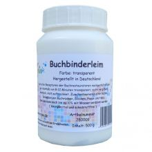 Buchbinderleim transparent 500g